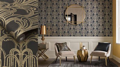 Art Deco Wallpaper & Accessories