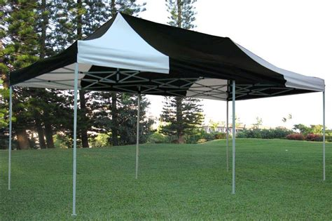 10x20 canopy tent 10 x 20 black and white pop up tent canopy gazebo