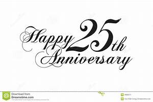 happy 25th anniversary clipart With happy 25th wedding anniversary