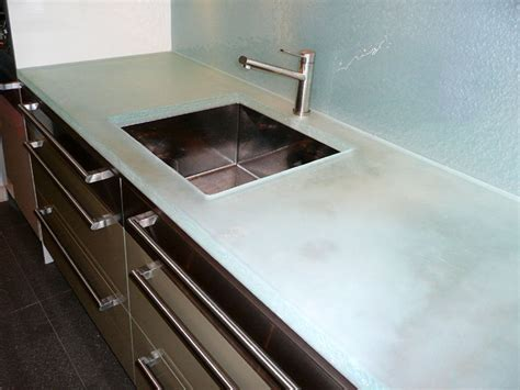 tempered glass countertop best glass kitchen countertops