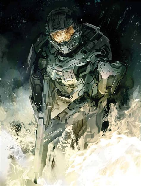 Master Chiefs Evolution The Concept Art Of Halo 4