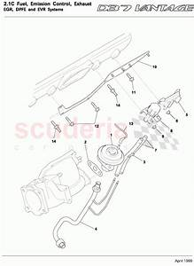 Aston Martin Db7 Vantage Egr  Dpfe And Evr Systems Parts