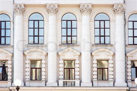 architecture  windows  ancient stock photo