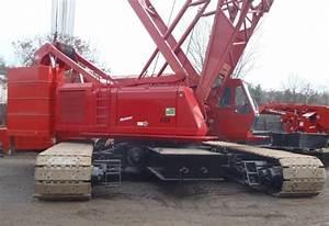 Manitowic 888 Crawler Crane