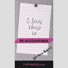 Staying Accountable To Your Workouts By Kelly Gibson  Vegan Trainer