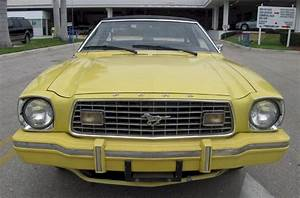Bright Yellow 1975 Ford Mustang II Coupe - MustangAttitude.com Photo Detail