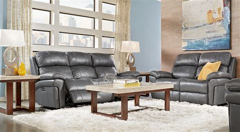 Slate Grey Sofa Living Room Decor : Gray, White & Gold Living Room Furniture & Decorating Ideas
