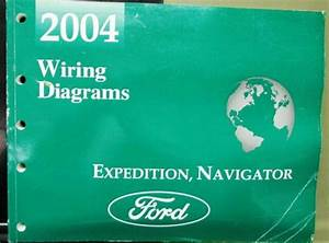 2004 Ford Lincoln Dealer Electrical Wiring Diagram Manual Expedition Navigator