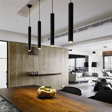 cylinder pipe led pendant lights  dining room living