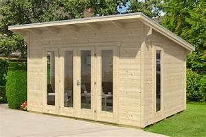 Fenster Einfachverglasung Gartenhaus : gartenhaus skanholz ostende flachdach gartenhaus ~ Articles-book.com Haus und Dekorationen