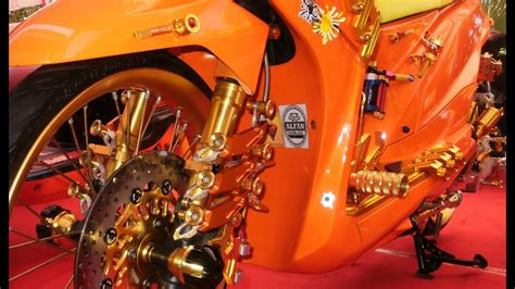 Modif Motor Beat Full Aksesoris Thailand Look Style Youtube