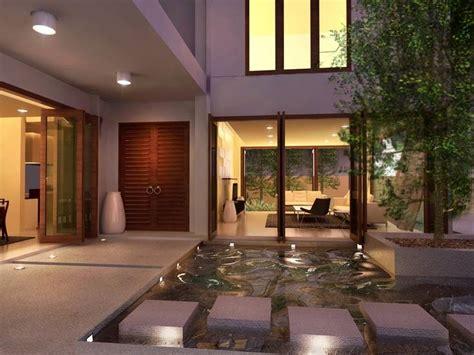 style courtyards exterior green home courtyard design ideas green trees
