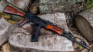 Ak-74, Rifle, Akm, Shotgun, Cannon Full HD, HDTV, 1080p 16