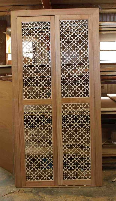 decorative metal screen for cabinets moroccan themed laser cut panels that will be the inserts
