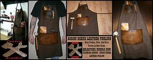 Custom Shop Aprons - Aaron Baker Leather Tooling
