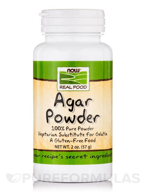 agar agar cuisine now food agar powder 2 oz 57 grams