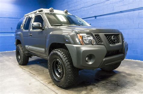 lifted nissan xterra used lifted 2014 nissan xterra pro 4x 4x4 suv for sale 35884