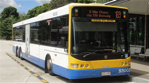 brisbane transport bus  scania kub  volgren