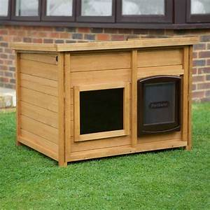 home roost self heating outdoor dog kennel magnetic With large wooden dog kennel