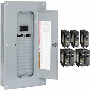 100 Amp Homeline Load Center Wiring