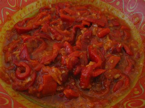 cuisiner les poivrons rouges recettes de poivrons rouges par grain de sel et