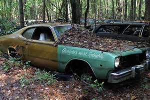 Abandoned Muscle Cars Old Car City USA