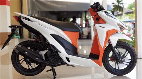 Honda Click 150i 2019 by New 2019 Honda Click 150i White Orange