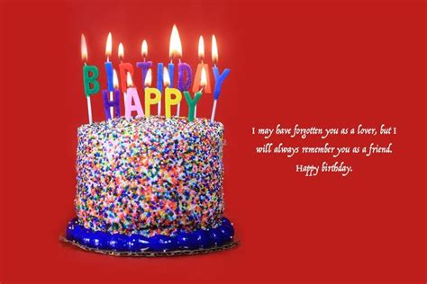 The best birthday messages for ex gf or girlfriend. Birthday Wishes For Ex-Girlfriend Quotes & Messages