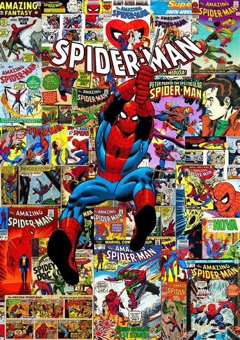 Spider-man covers retro 60-70 | Amazing spiderman, Marvel ...