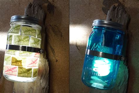 5 Minute Diy Mason Jar Wall Sconce Your Home Is Begging
