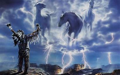 Native American Wallpapers Indian Horse Spirit Indians