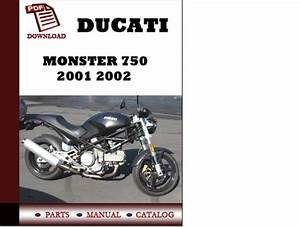 Ducati Monster 750 Parts Manual  Catalogue  2001 2002 Pdf