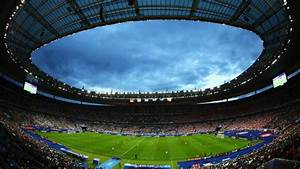 Clash Of Lights Euro 2016 Controlled Explosion Outside Stade De France