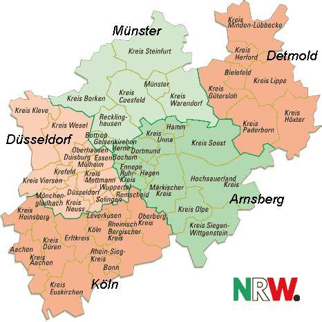 Nrw Deutschland Karte
