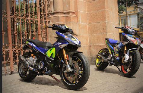 Pakai Batok King by Pertamax7 Modifikasi Yamaha Jupiter Mx King Pakai