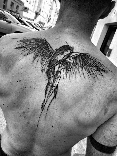 Take A Look At These Wild Sketch Tattoos   Polish tattoos