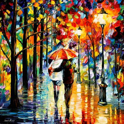 love through leonid afremov s strokes 4ever21christina
