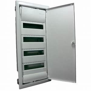 Tableau Electrique 4 Rangées : armoire de distribution encastr e 4 rang es achat ~ Dailycaller-alerts.com Idées de Décoration