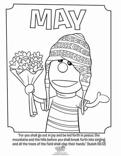 Coloring Isaiah Pages Bible Whats Month Whatsinthebible