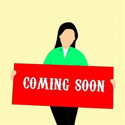 Soon Coming Exciting Things Text Domain Banner