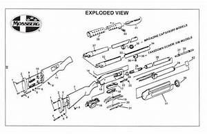 Mossberg 500 835 590 Pump Shotgun Owner U0026 39 S Manual Guide