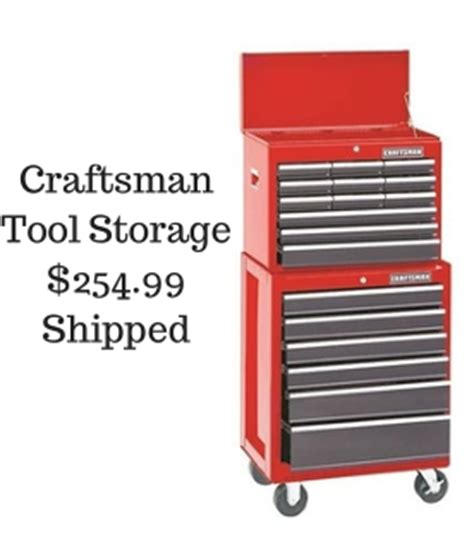Craftsman Cabinet Tip Screwdriver by Craftsman 26 Quot Rolling Tool Chest Storage For 254 99 Shipped