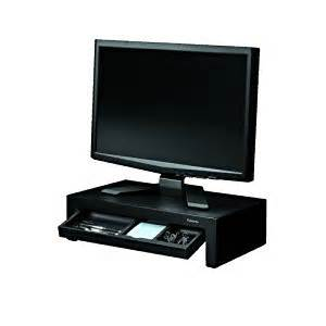 amazon com designer suites monitor riser by fellowes