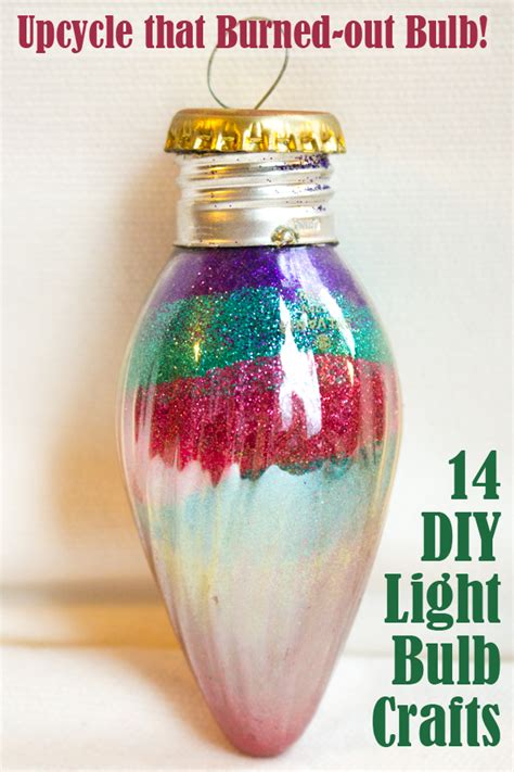 light bulb crafts upcycle that burned out bulb 14 diy light bulb crafts