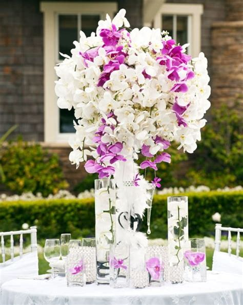 Best Orchid Wedding Flowers Images Pinterest White