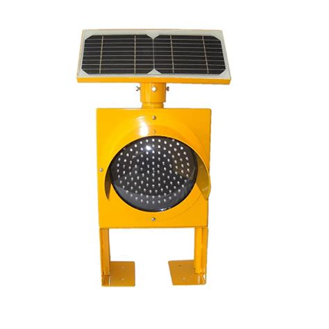 solar traffic light with stand