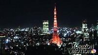 FULL HD 1080P 日本 東京 Tokyo , Japan 東京鐵塔 夜景 城市 鳥瞰 aq0002089 - YouTube