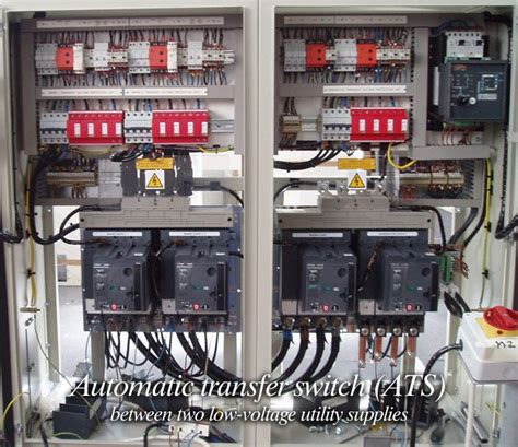 automatic transfer switch ats between two low voltage utility supplies