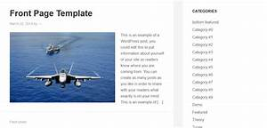 Create a front page template for genesis beginners guide for Create a new page template wordpress