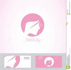 Woman face profile logo stock vector. Image of template ...